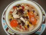 Cuban Black Bean Chicken Soup