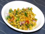 Colorful Chipotle Roasted Corn Salsa