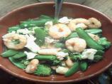 Simple Prawn, Pea and Broccoli Broth