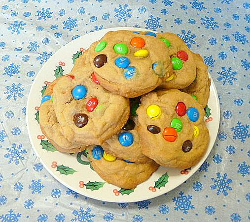 Soft and Chewy M&m Cookies. Photo by Chef #506657