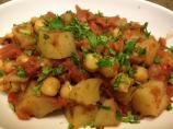 Fragrant Indian-Spiced Potatoes and Chickpeas #5FIX