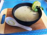 Thai Coconut Lime-Lemongrass Soup W/Tofu