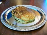 More With Less Mom's Green Oat Pancakes for St. Patrick's Day