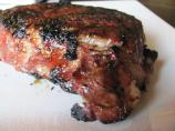 Red Wine Marinated Ribeye Steak