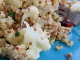 Quinoa With Cauliflower, Cranberries and Pine Nuts