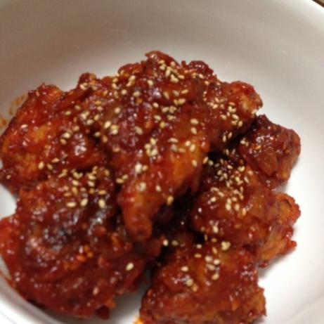 Spicy Korean Fried Chicken. Photo by ducky007