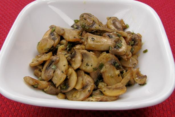 Herb Sauteed Mushrooms. Photo by lazyme