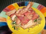 Strawberry Chicken Stir Fry