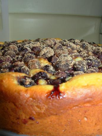 Blueberry Streusel Cake. Photo by bake_me_a_cake