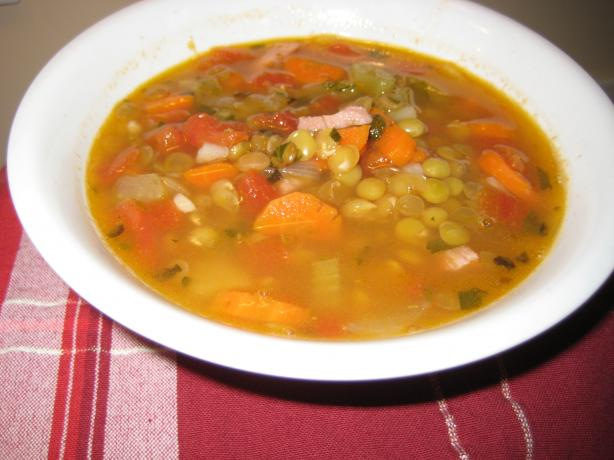 Lentil Soup. Photo by Cookin&#39;Diva