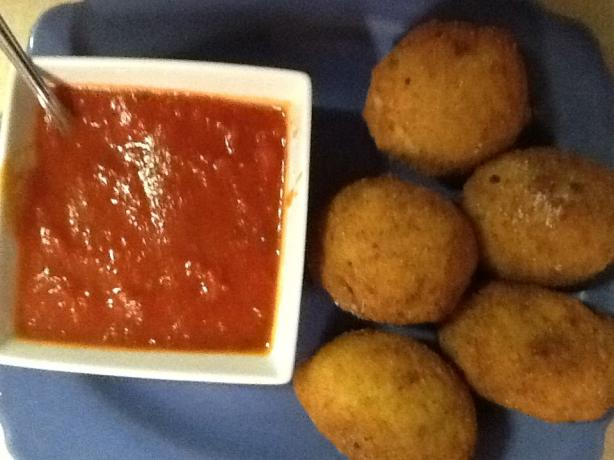 Italian Rice Balls. Photo by Chef Mama IT