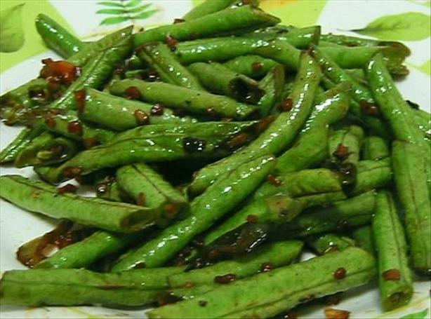 Szechuan Long Beans. Photo by WaterMelon
