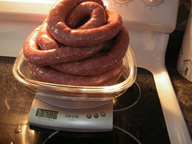 South African Sausage (Boerewors). Photo by Iluv2cook59