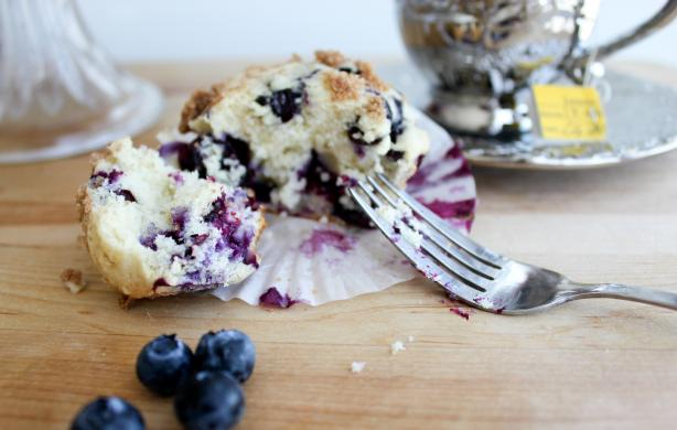 The Best Blueberry Muffins. Photo by carlacolega