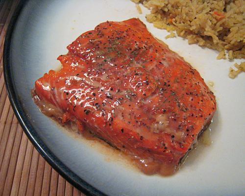 Easy Cedar-plank Salmon. Photo by yogiclarebear