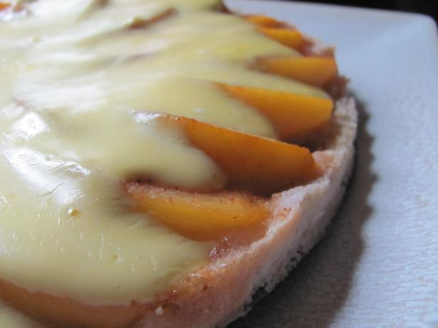Peach Kuchen. Photo by under12parsecs