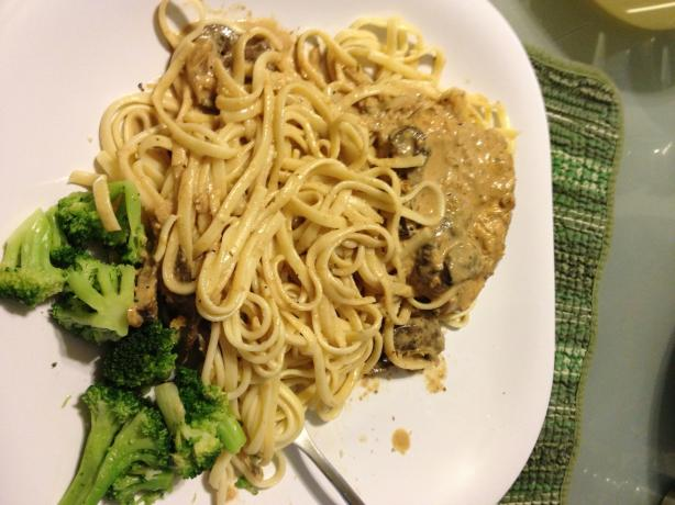 Copycat Recipe for Carrabba's Chicken Marsala. Photo by sapeterkin