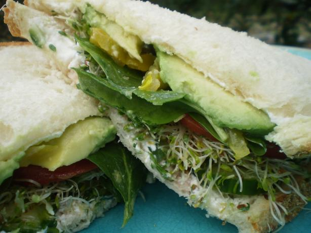 Veggies Dream Cucumber Sandwich. Photo by breezermom