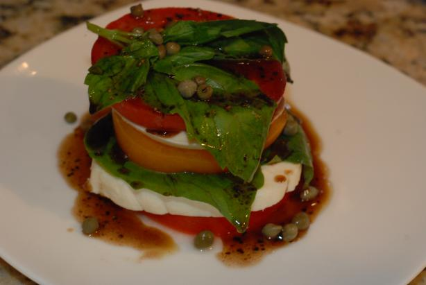 Insalata Caprese. Photo by carmenskitchen