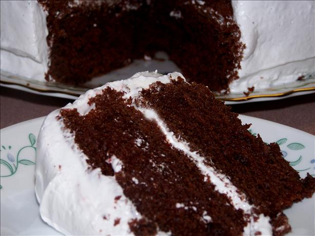 Devil's Food Cake Soaked in Rum. Photo by Rita~