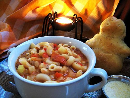 Lemon Pasta E Fagioli. Photo by Annacia