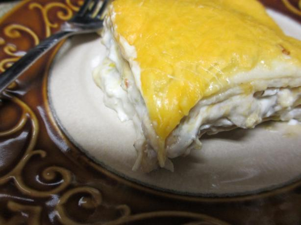 Creamy Chicken and Chile Casserole. Photo by megs_