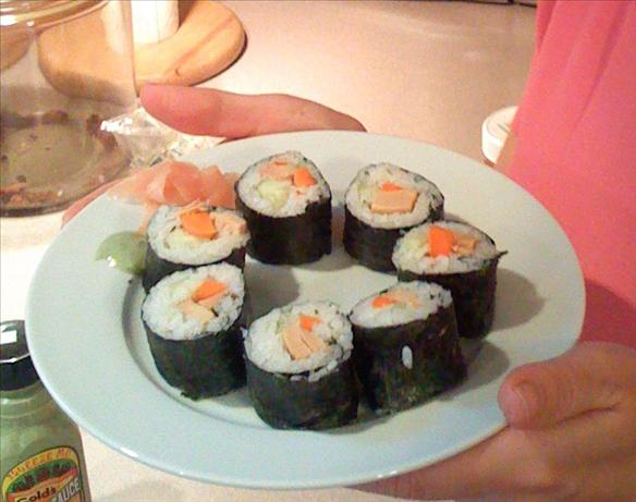 Sushi Rice. Photo by LaurietheLibrarian