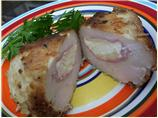 Cream Cheese Chicken Cordon Bleu