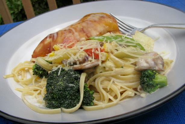 "The ""Perfect"" Pasta Primavera. Photo by lazyme"