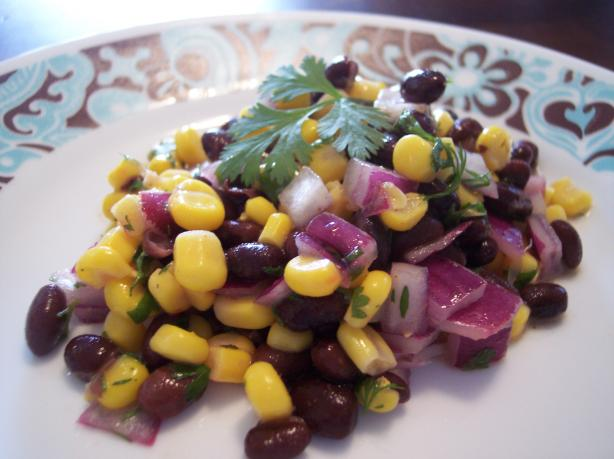 Very Low-Fat Black Bean And Corn Salad. Photo by jrusk