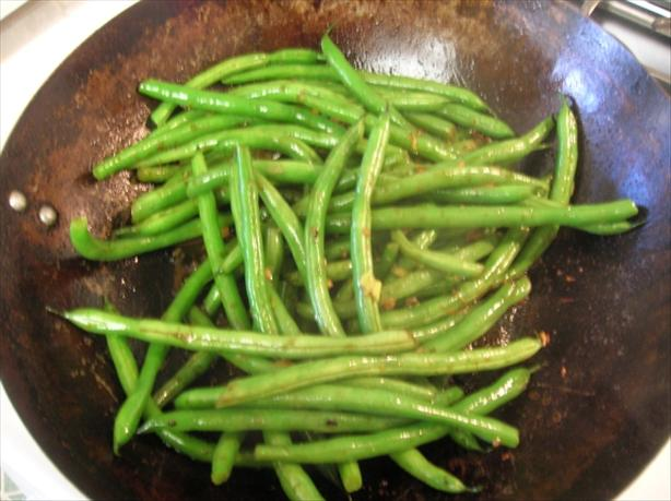 Stir Fried Green Beans. Photo by Pam-I-Am