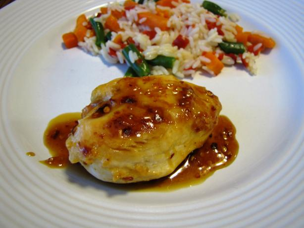 Chicken Breasts with Spicy Honey Orange Glaze. Photo by loof