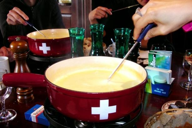 Authentic Original Traditional Swiss Fondue (Old World Recipe). Photo by Chef #2586488