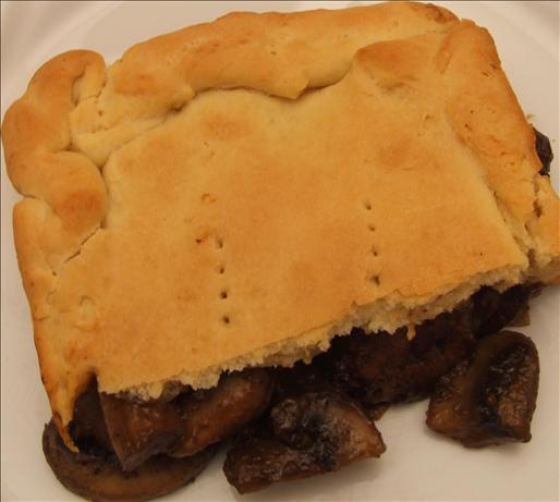 Kangaroo and Beer Pie with Damper Pastry. Photo by Peter J