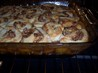 Fresh Peach Cobbler With Praline Biscuits