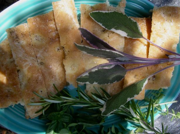 Focaccia with Mixed Herbs. Photo by Cookgirl