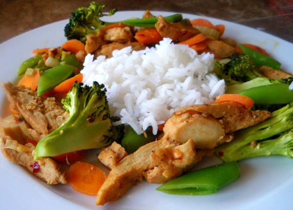 Chicken and Vegetable Stir Fry. Photo by Bergy