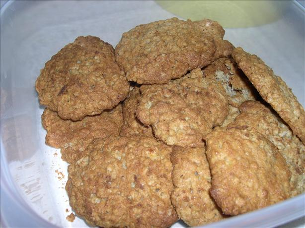 Banana Oatmeal Cookies. Photo by Bec