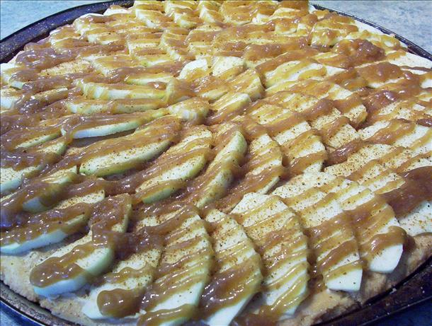 Taffy Apple Pizza. Photo by * Pamela *