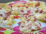 Hawaiian Pizza Appetizers (Puff Pastry)