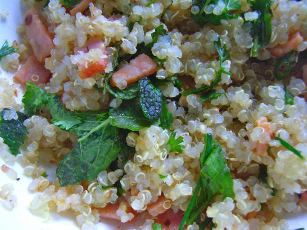 Herbed Quinoa Salad. Photo by katew
