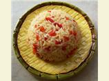 Red and White Rice