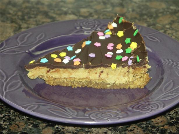 Chocolate-Peanut Butter Cookie Pie. Photo by Juenessa