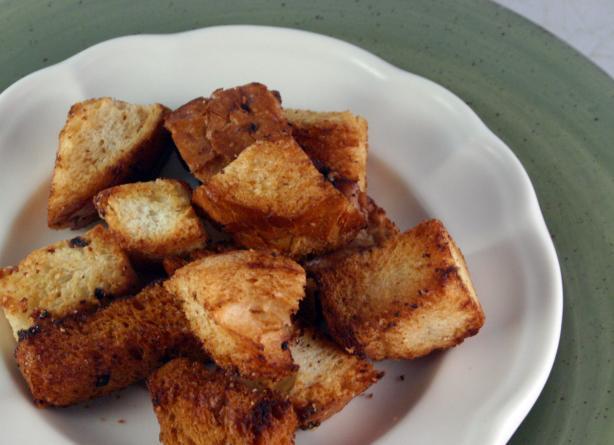 Homemade Croutons. Photo by SashasMommy
