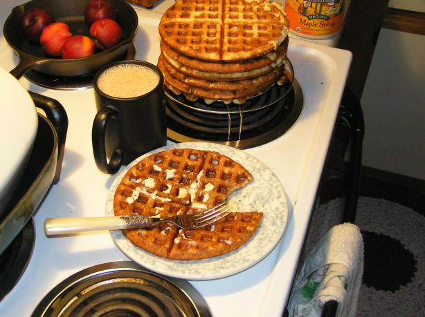 Gluten Free Waffles. Photo by InvisiGyrl