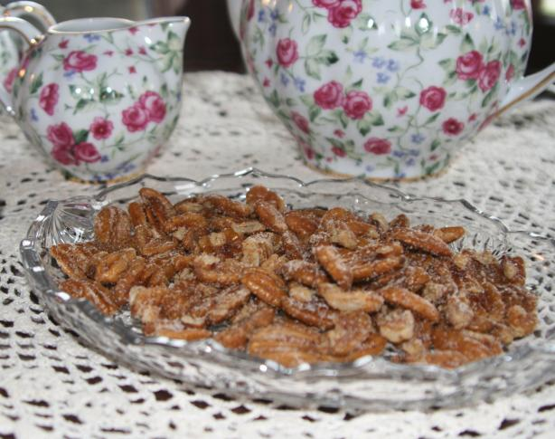 Sweet and Spicy Texas Pecans. Photo by carolinajewel