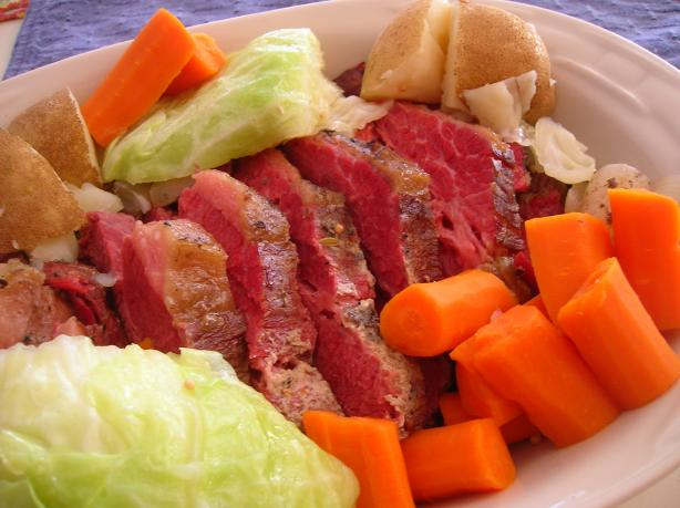 Crock Pot Corned Beef & Cabbage. Photo by Pam-I-Am