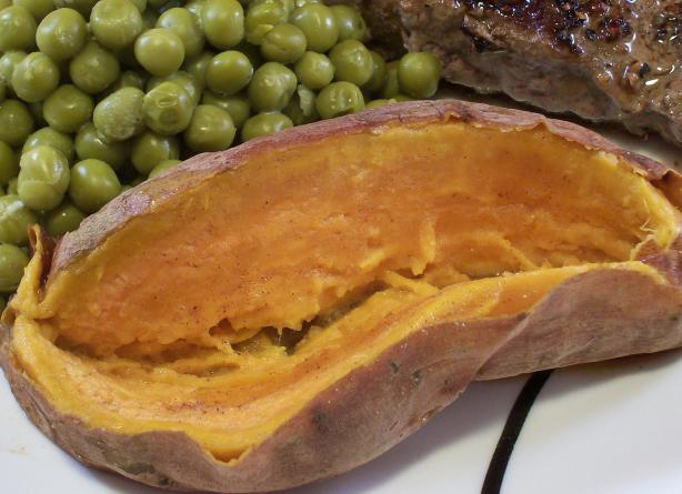 Baked Sweet Potato. Photo by Crafty Lady 13