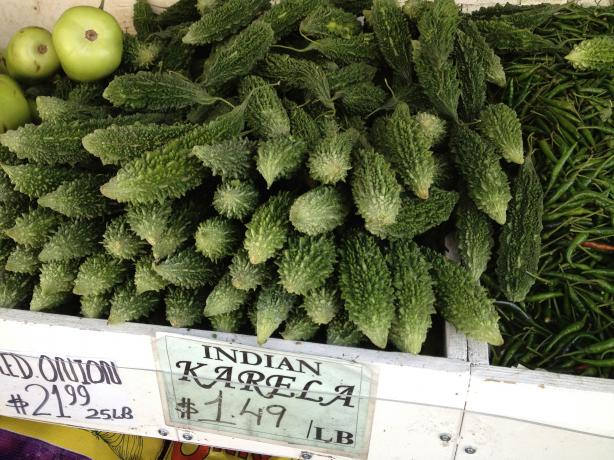 Karela (Bitter melon or gourd). Photo by pfgastaldi
