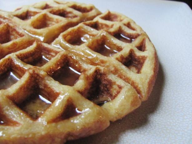 Crispy Cornmeal Waffles. Photo by under12parsecs
